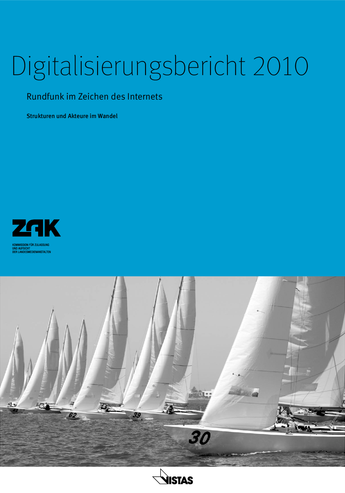 Cover Digitalisierungsbericht 2010