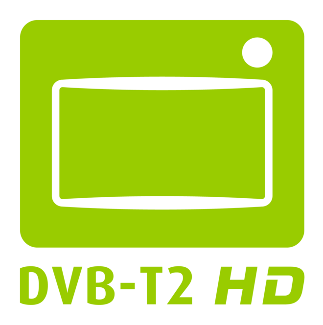 Logo der Initiative DVB-T2 HD